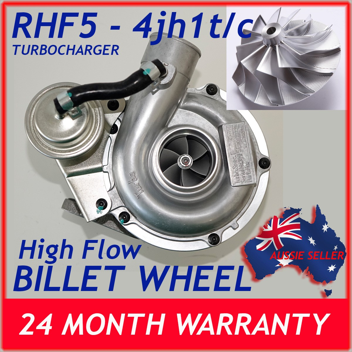 holden-isuzu-rodeo-rhf5-vidw-viek-4jhit-turbocharger-compressor-billet-wheel