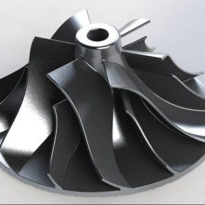 turbocharger-ceramic-coated-compressor-impeller-wheel