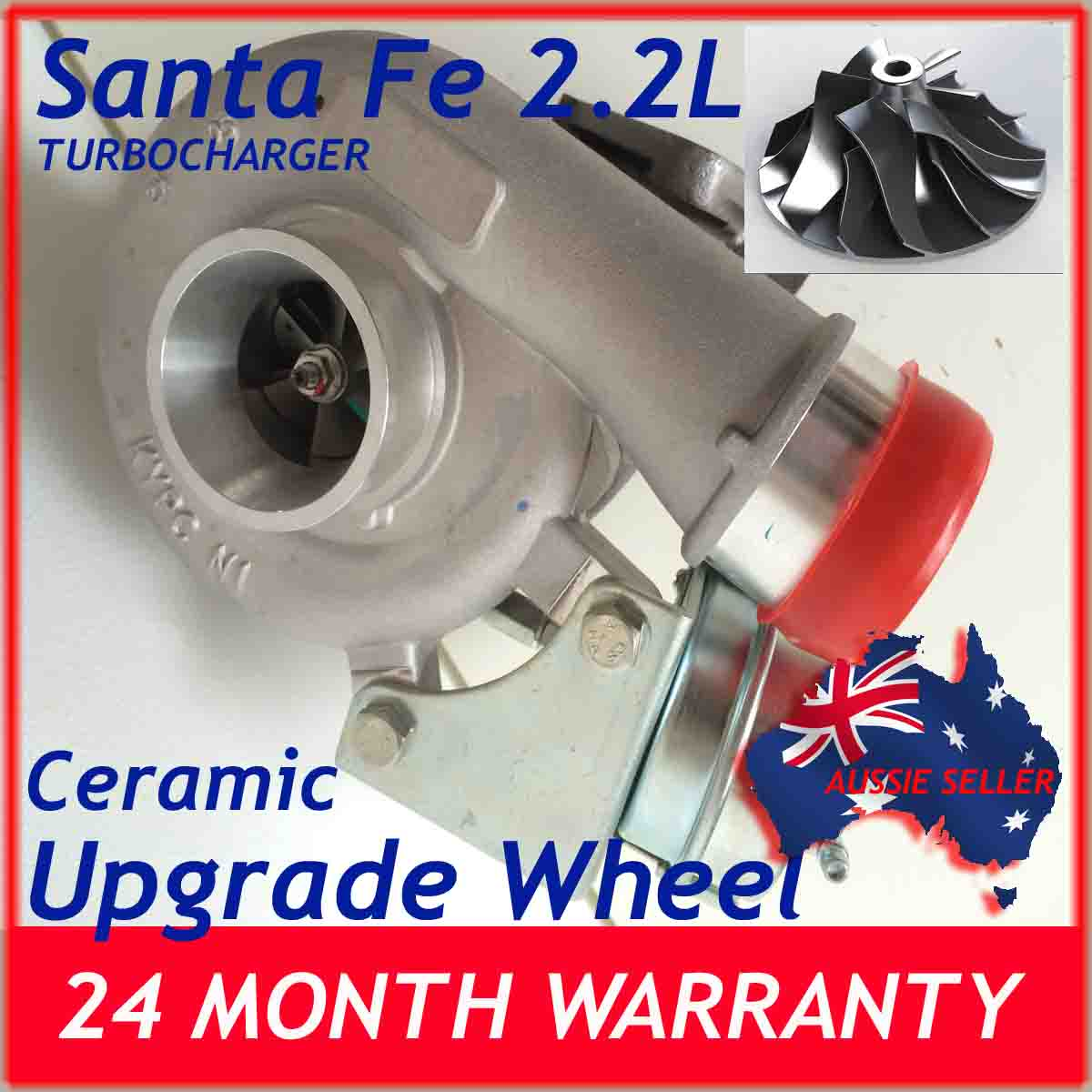 Turbochargers Suitable for Hyundai Santa Fe 2 2L TF035HL CERAMIC IMPELLER  CERAMIC HOUSING