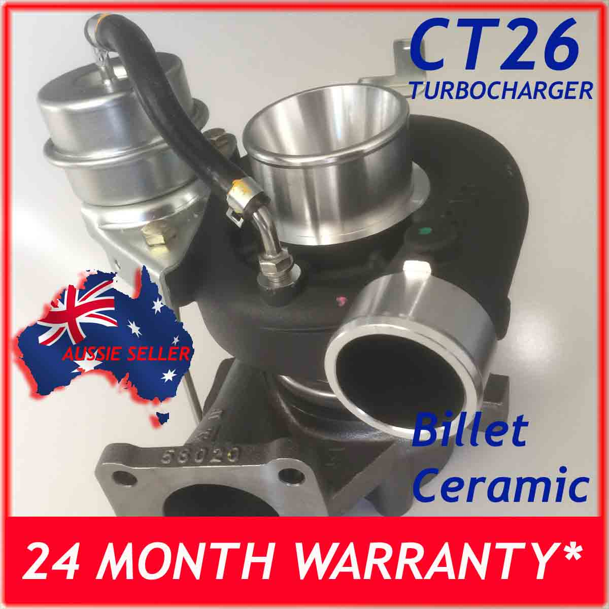 Turbochargers Suitable for Toyota Landcruiser HDJ80 4 2L CT26 17010 CERAMIC  HOUSING HIGH FLOW BILLET Upgrade
