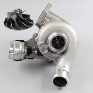 kia-sorento-d4cb-ceramic-upgrade-turbocharger-bv43-28200-4a470-compressor