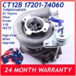 toyota-hilux-land-cruiser-prado-3.0l-1kzte-17201-67040-ct12b-billet-ceramic-upgrade-turbocharger-compressor