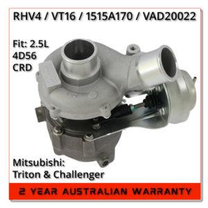 mitsubishi-triton-l200-challenger-2.5l-4dD56-t-vt16-rhv4-1515A170-turbocharger