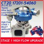 toyota-hilux-surf-land-cruiser-prado-4runner-2l-t-17201-54060-ct20-stage-1-high-flow-billet-upgrade-turbocharger