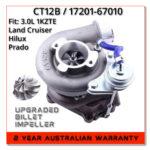 toyota-hilux-land-cruiser-prado-3.0-1kzte-17201-67040-ct12b-billet-upgrade-turbocharger-compressor